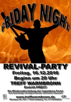 16.12.2016 - Friday Night Revival-Party
